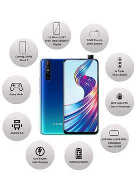 Vivo v15 6gb 64gb charger and bill available14 month old