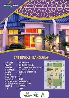 Rumah Siap Bangun 350jt di Perumahan Kembang Putihan Residence