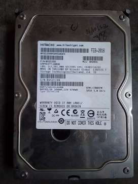 160 Hitachi hard disk brand new argent sale