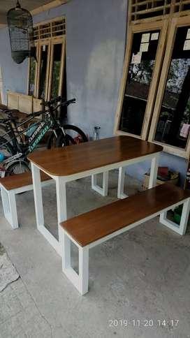 Set meja warong makan