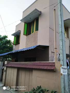 House for rent in prime location at Gandhi nagar 4km from vit & cmc