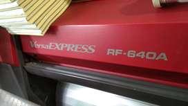 VERSA EXPRESS RF-640A ROLAND ECO SOLVENT PRINTER