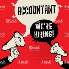 we have opening for accounts assistant