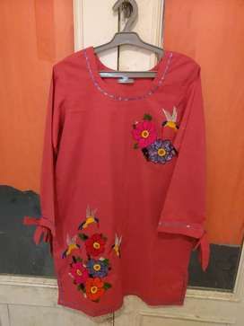 Hand embroidered shirts for girls