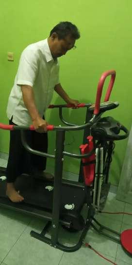Treadmill manual 6 Fungsi SN-004 Terlengkap