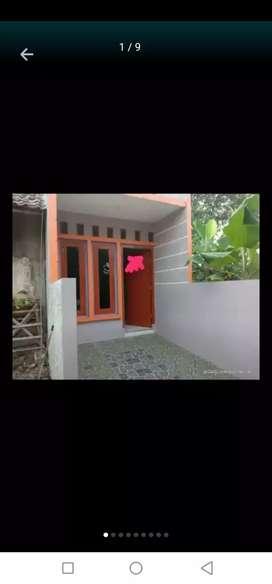 Rumah kampung mungil di Kranggan jati sampurna