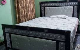 Full (double) Bed with Spring Mattress