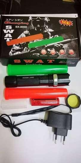 Senter Swat Led Shuangxiong SX-8008
