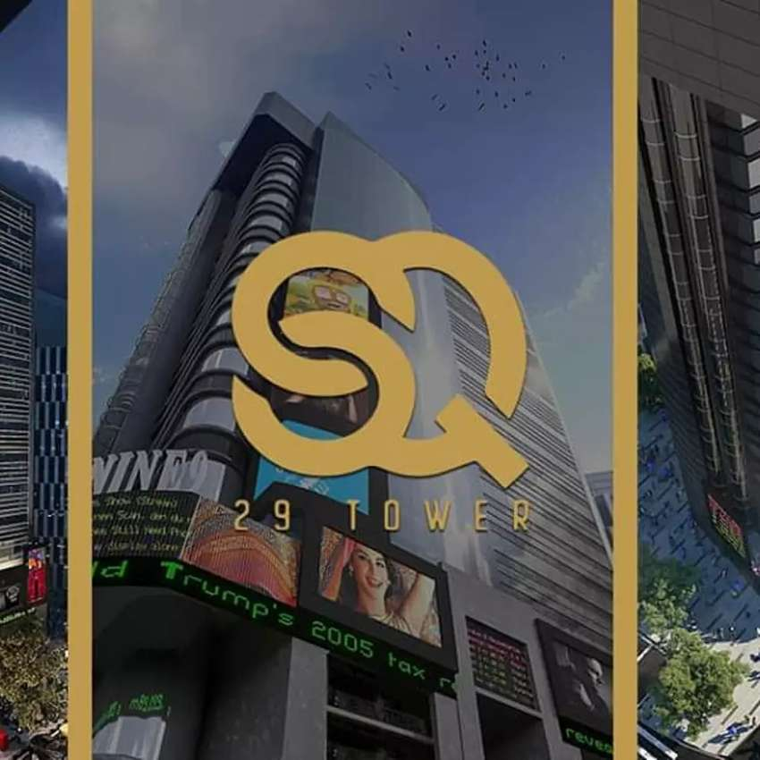 SQ 29 TOWER  LUXURY OFFICE'S BAHRIA TOWN 0