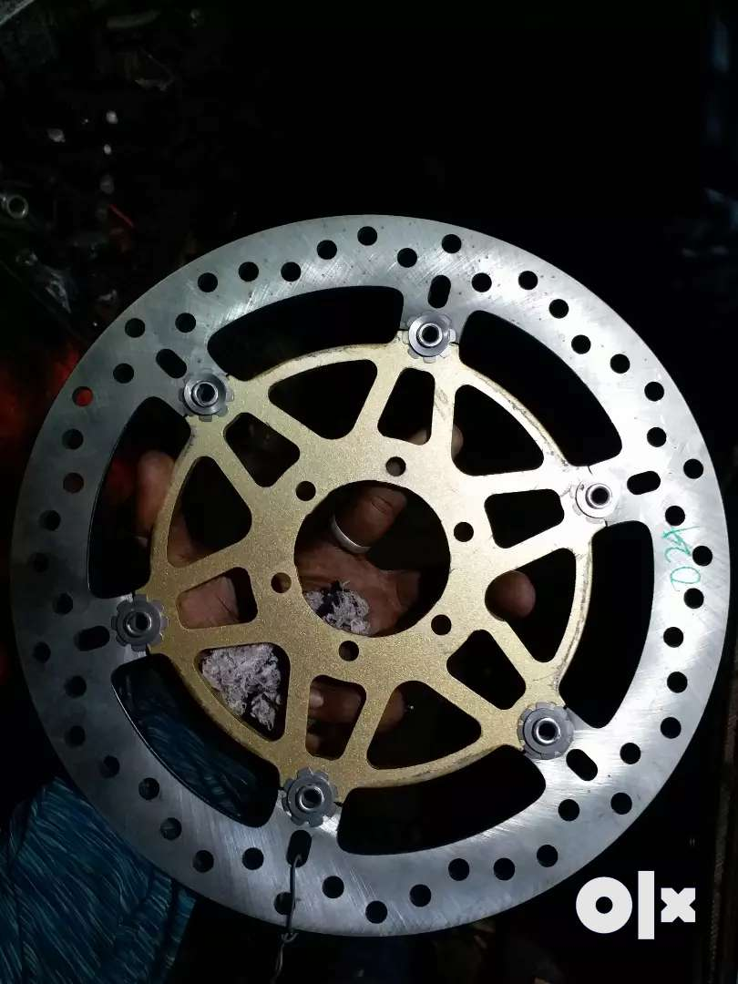 New Disk plate for royal enfield continental gt 0
