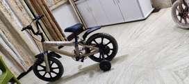 Brand new Kids bicycle 16 T Hero purchased from Flipkart