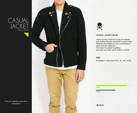 Jaket Casual Le Min Ho Gaya Korea | Jaket Modern | Crowsdenim SK-08