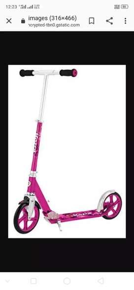 Scooter pink colur ka hai 2 month use market prize $2000