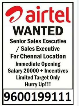 Airtel Broadband sales