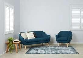 Set sofa retro.