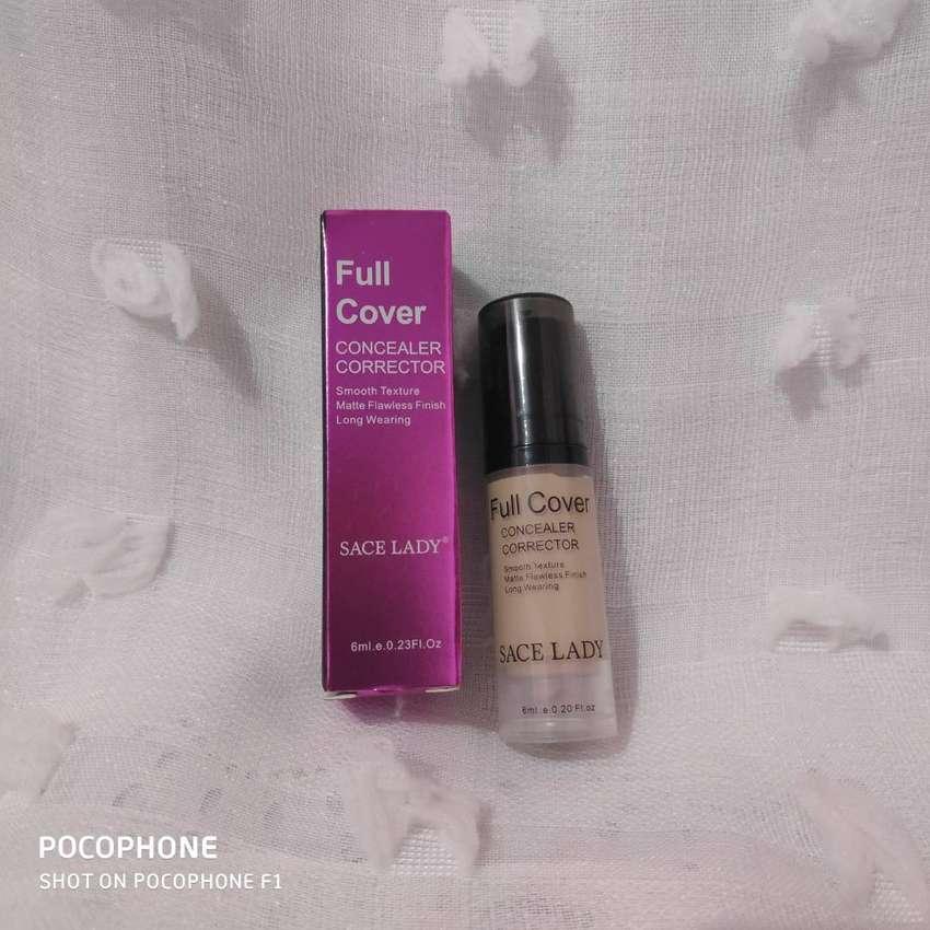 Full Cover Liquid Concealer Waterproof Eye Dark Circles Makeup Base 0