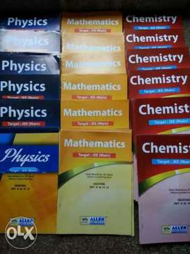 Old books for Neet and IIT vibrant Allen