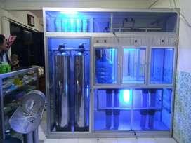Mesin Air minum isi ulang garansi 10th