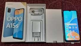 Dijual Cepat, Oppo A15s Like New 99% Fullset 4GB/64GB
