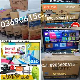 """(Led42""""@Rs12500)also(50""""$tars22999)4kandroid9_series Home theatre free"""