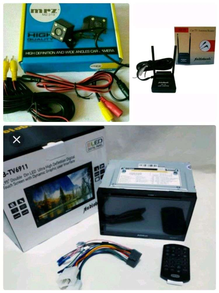 Plus Pasang, Doubledin MirrorLink Android Audiobank+Camera parkir