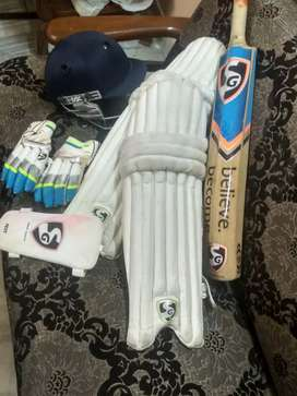 A well maintained cricket kit!!
