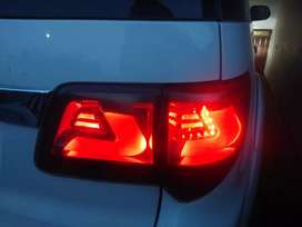 Fortuner black back lights