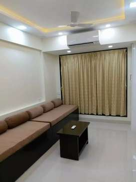 1bhk luxury flat on rent with 2Ac fited@7,500