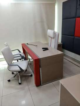 VIP FULL FURNISHED OFFICE FOR 24/7 TIMING WITH LIFT CHAMBER CUBICLE