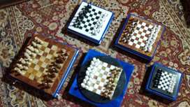 "Chess Games Made of Marble 8""x8"" & more.."