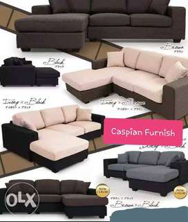 28 New Good Quality & many color options in L shape sofa