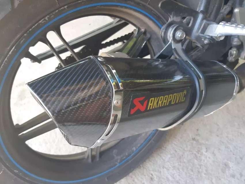 Knalpot Racing Akrapovic For Vixion 0