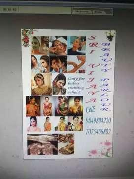 Sri Vijaya beauty parlour Indira Nagar Colony Khammam