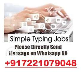 20 Pages Typing Jobs    300 Rs. Per Page    100% Daily Payout.!!