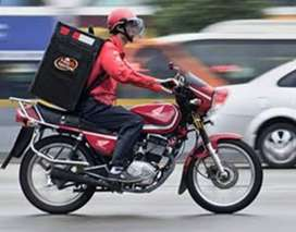 Expert rider delivery service
