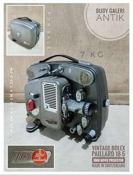 Vintage Bolex Paillard 18-5 8mm Movie Projector Made In Switzerland