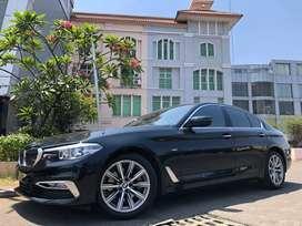 BMW 520d Luxury 2018 Faceift G30 Black Speedodigital Km9000 Wrnty5Thn