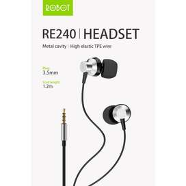 Earphones Robot RE240 Hight Definition Sound Quality
