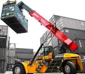 New Unit Reach Stacker Sany 45 Ton Termurah Bengkulu