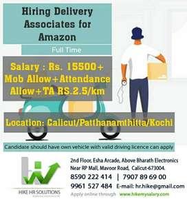 Hiring Delivery Associates