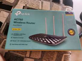 TP link AC 750 Dual Band Router Unused Router for sale
