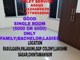 Big Single Room(5000,5500,6000) Available Near Palasuni To Laxmi Sagar
