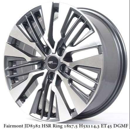 Velg Racing HSR Fairmont Ring 18 Untuk Mobil Kijang Innova 0