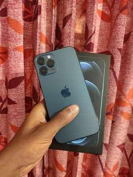 iPhone 12 pro max 256gb 2 month warranty full box clean 12pro max