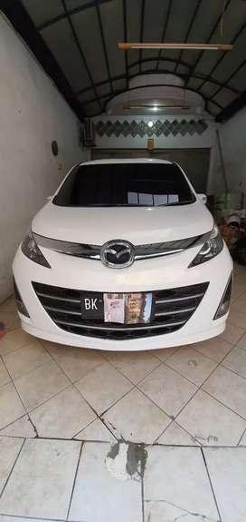 Mazda biante 2013 putih Mulus