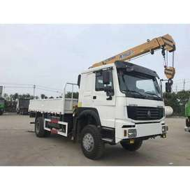 Rental truck crane 10 ton Jogja Surakarta Jawa Tengah Murah Bulanan