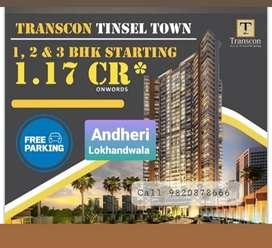 2bhk transcon tinseltown, Andheri West link Road 32 storey building