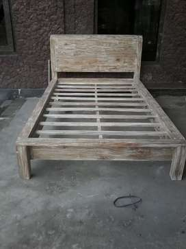 Dipan 120x200 kayu jati