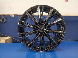 Ready stock velg import WX HSR ring17 pcd5x114,3