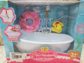 Mainan anak dream bathroom baru